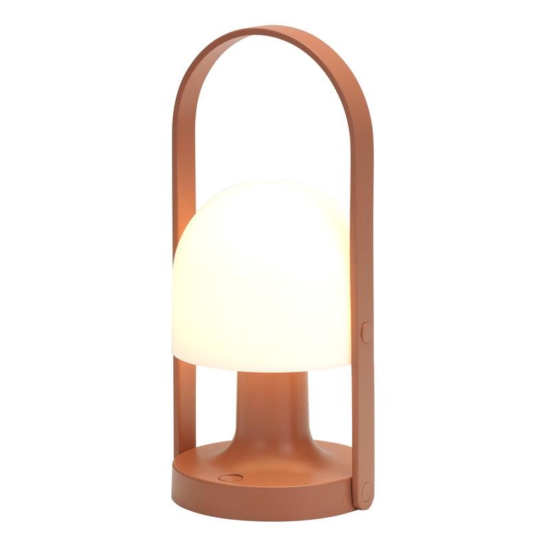 Marset Lampada FollowMe, terracotta