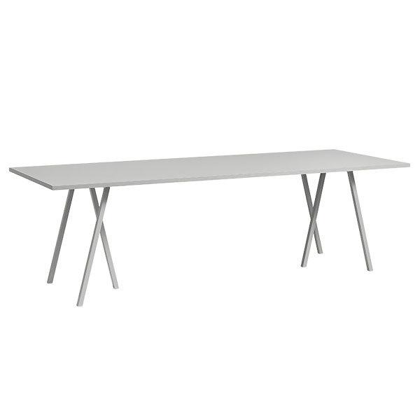 Hay Loop Stand table, 200 cm, grey