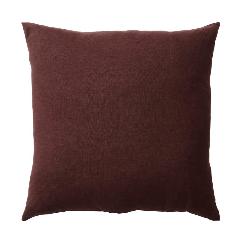 &Tradition Collect Heavy Linen SC29 tyyny, 65 x 65 cm, burgundy
