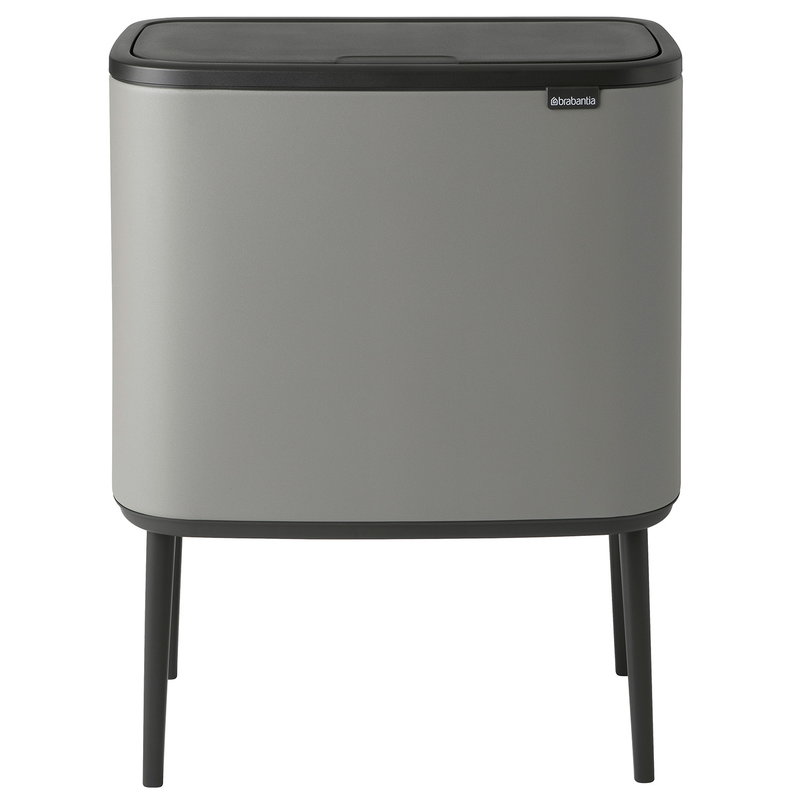 Brabantia Bo Touch Bin 11 + 23 L, Sense of Luxury, grey