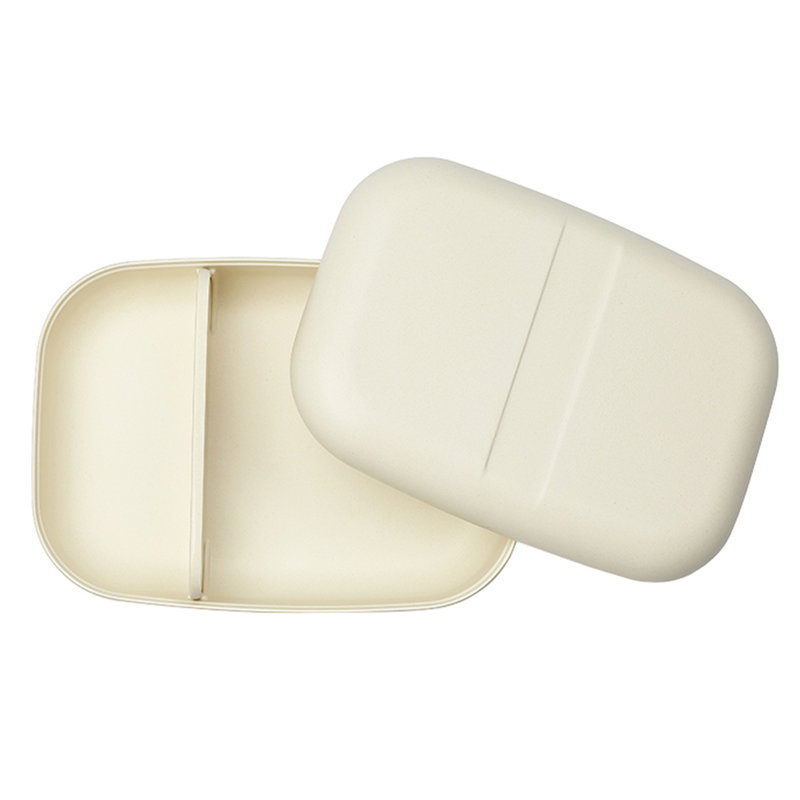 Ekobo Go Bento box, rectangle, white