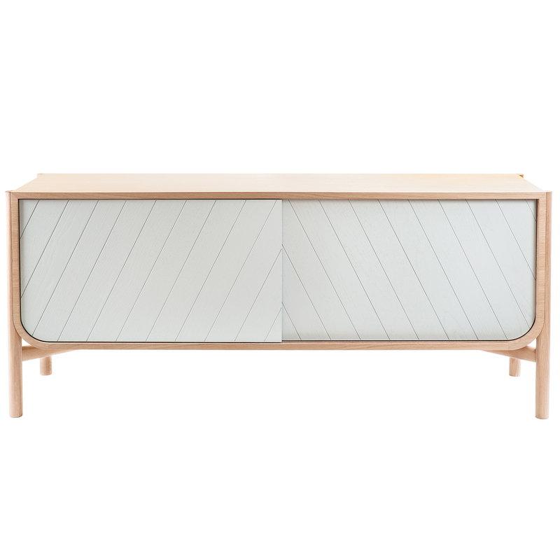 Harto Marius sideboard, oak - light grey