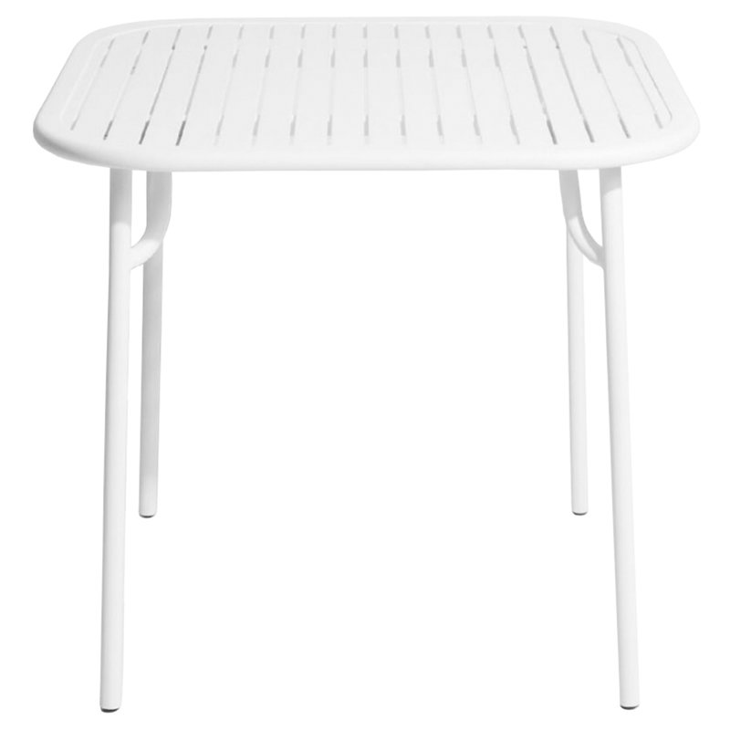Petite Friture Week-end table 85 x 85 cm, white