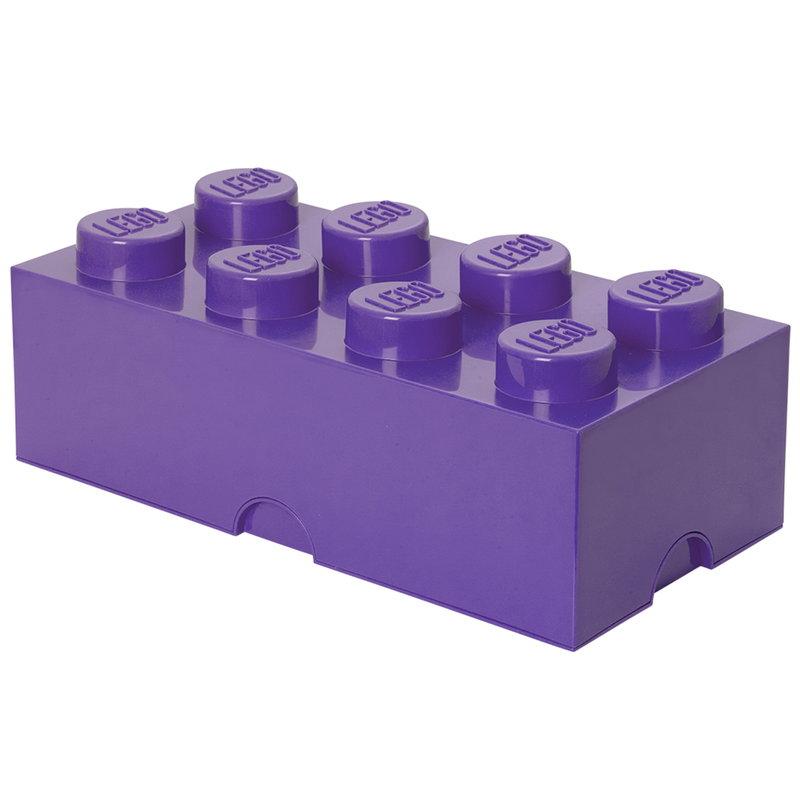 Room Copenhagen Lego Storage Brick 8, medium lilac