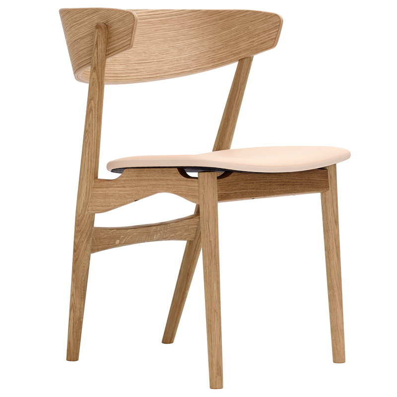 Sibast No 7 chair, oiled oak - honey leather