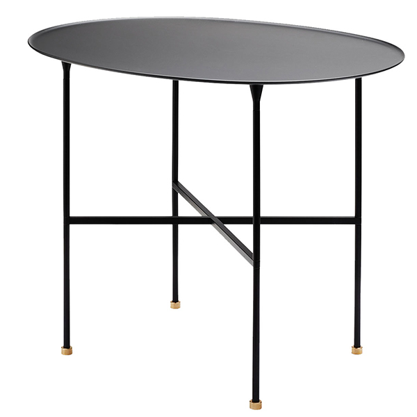 Skagerak Brut pöytä, musta