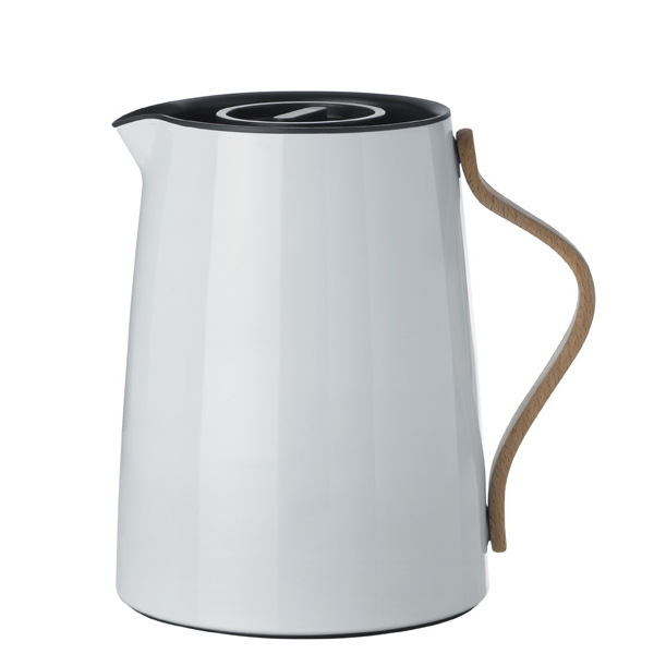 Stelton Emma vacuum jug for tea, grey