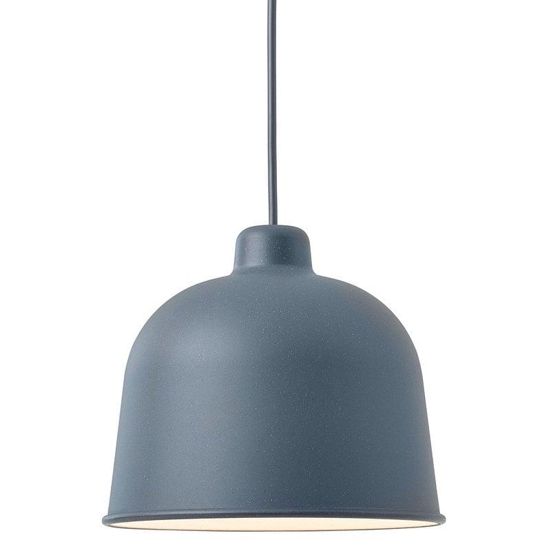 Muuto Grain pendant, blue grey