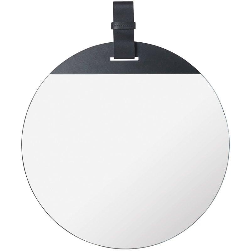 Ferm Living Specchio Enter, grande, nero
