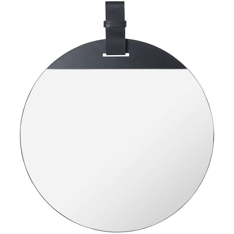 Ferm Living Enter mirror, large, black
