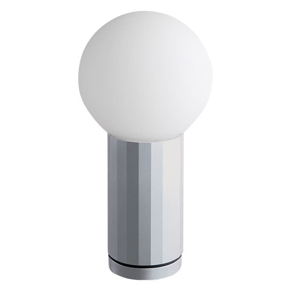 Hay Turn On table lamp, aluminium