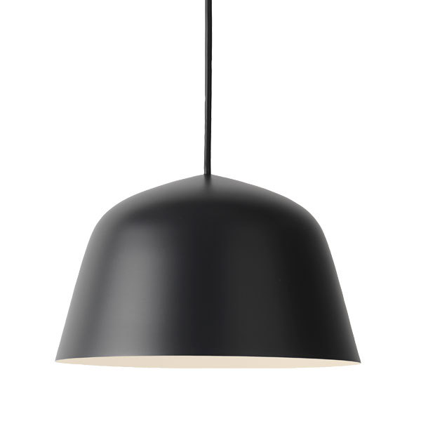 Muuto Lampada Ambit 25 cm, nera