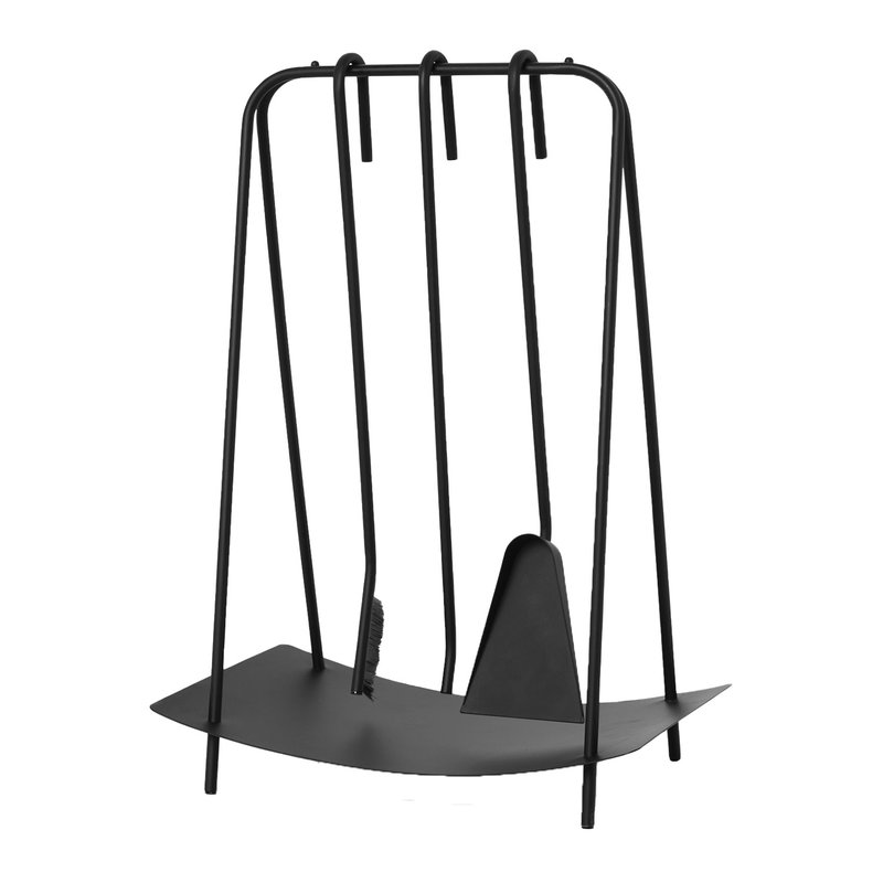 Ferm Living Port Fireplace Tools Black Finnish Design