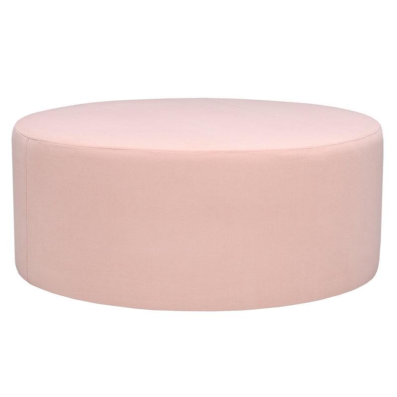 Hakola Moon pouf, large, Aura pink