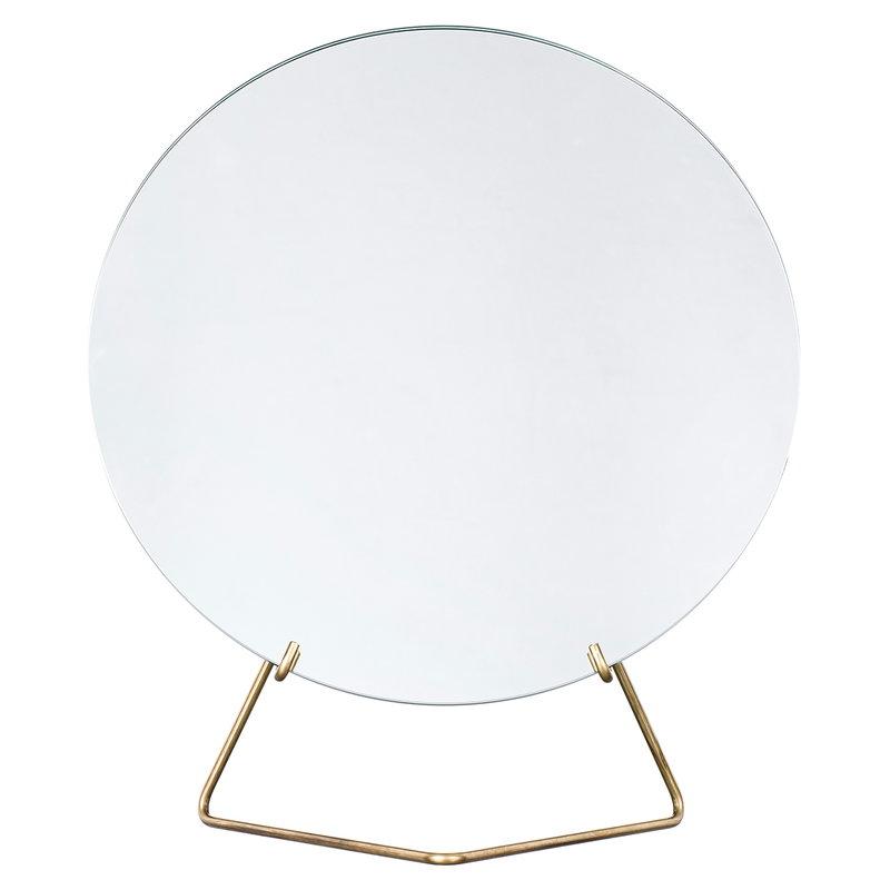 Moebe Standing mirror 30 cm, brass