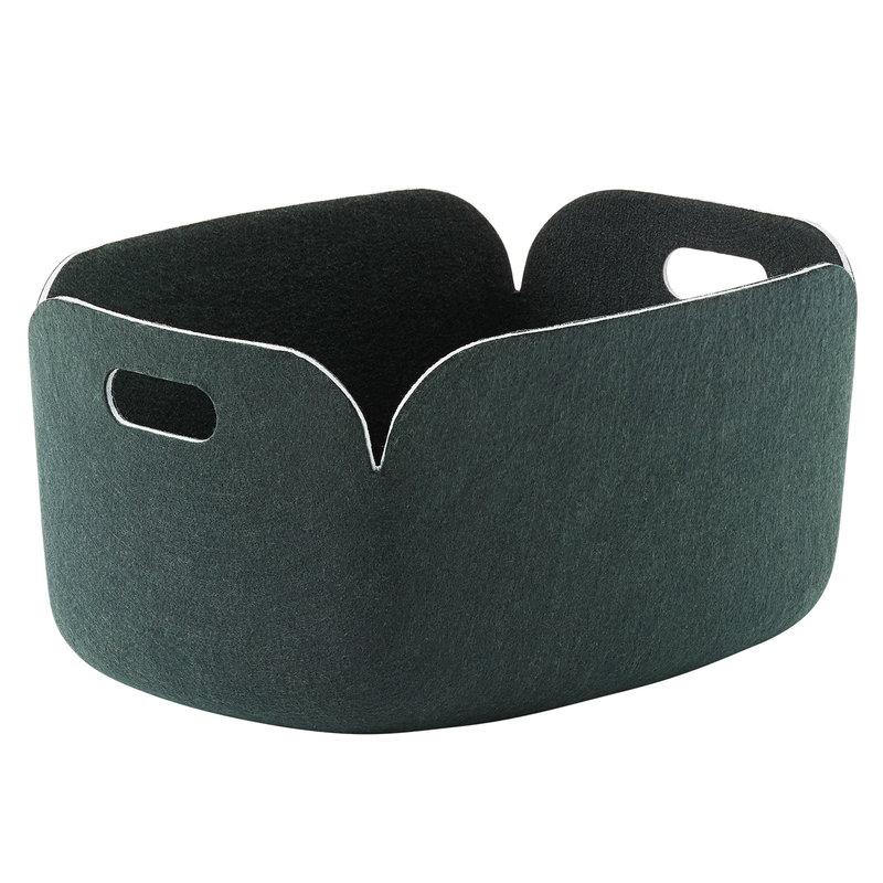 Muuto Restore storage basket,  dark green