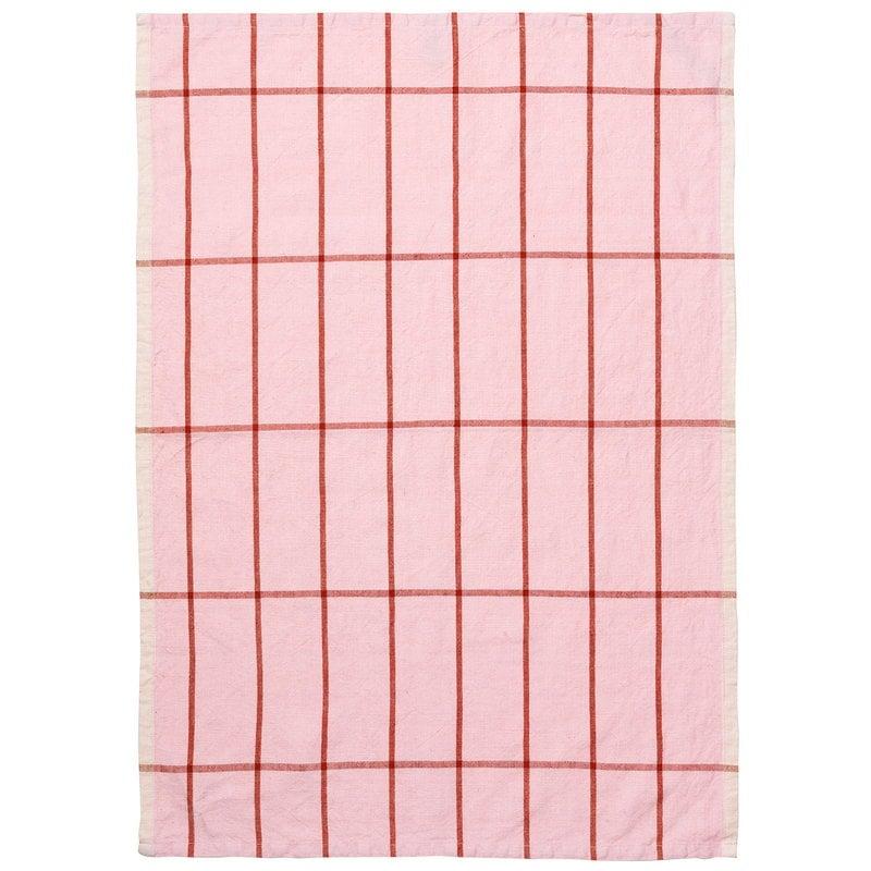 Ferm Living Strofinaccio Hale, rosa - ruggine