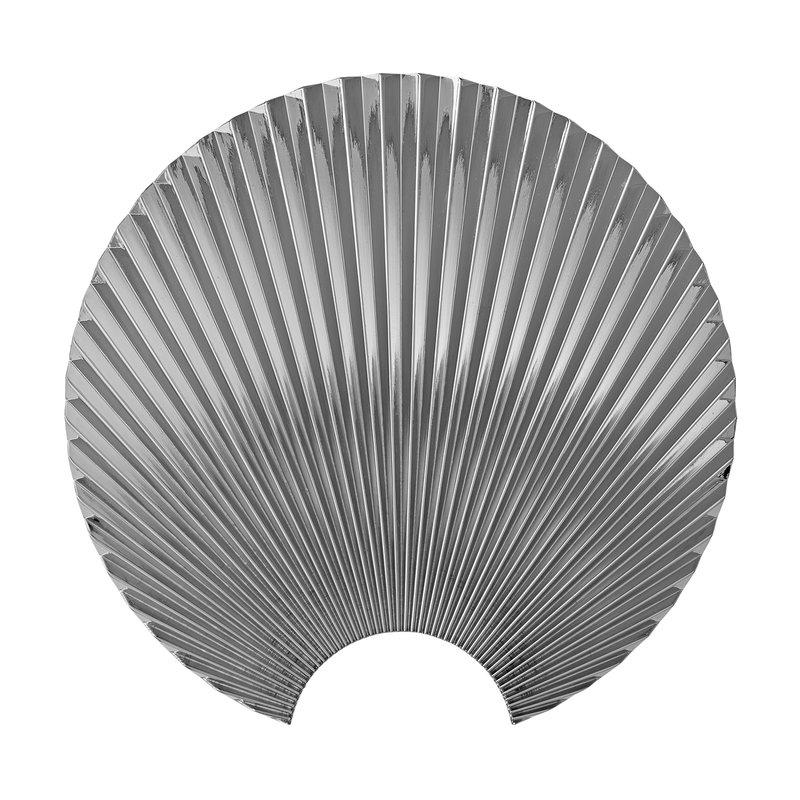 AYTM Concha wall hook L, silver