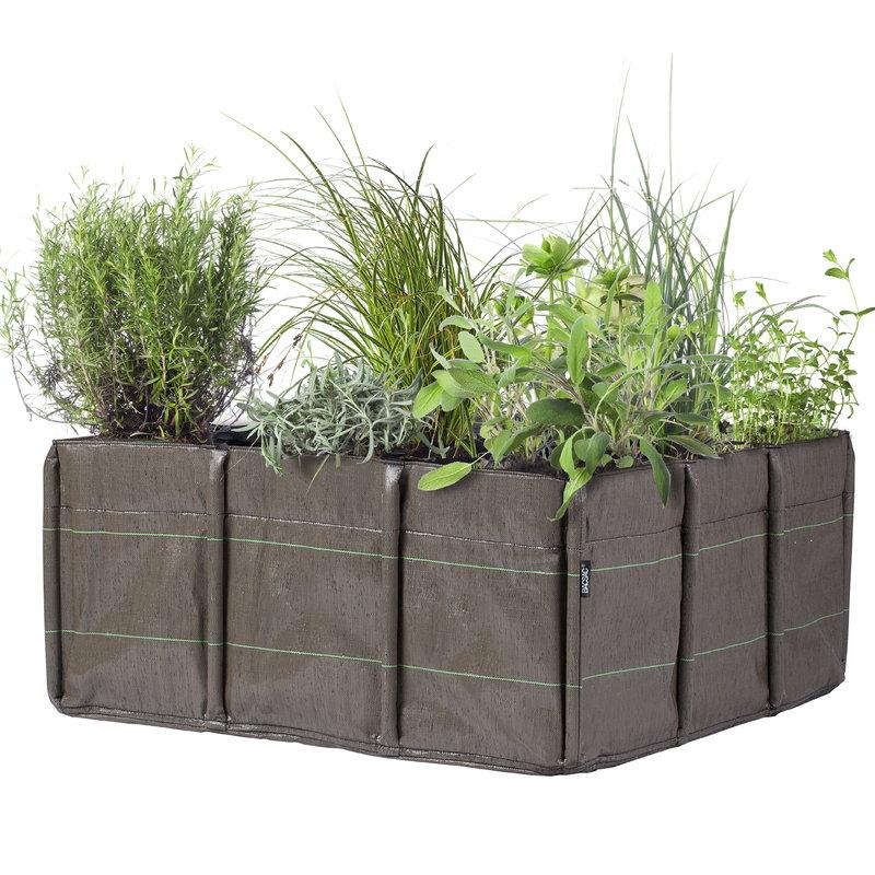 Bacsac Bacsquare 9 fabric planter, 330 L