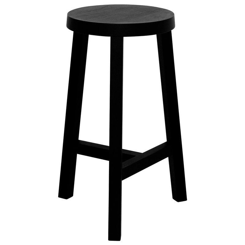 Made by Choice Lonna bar stool, 66 cm, black
