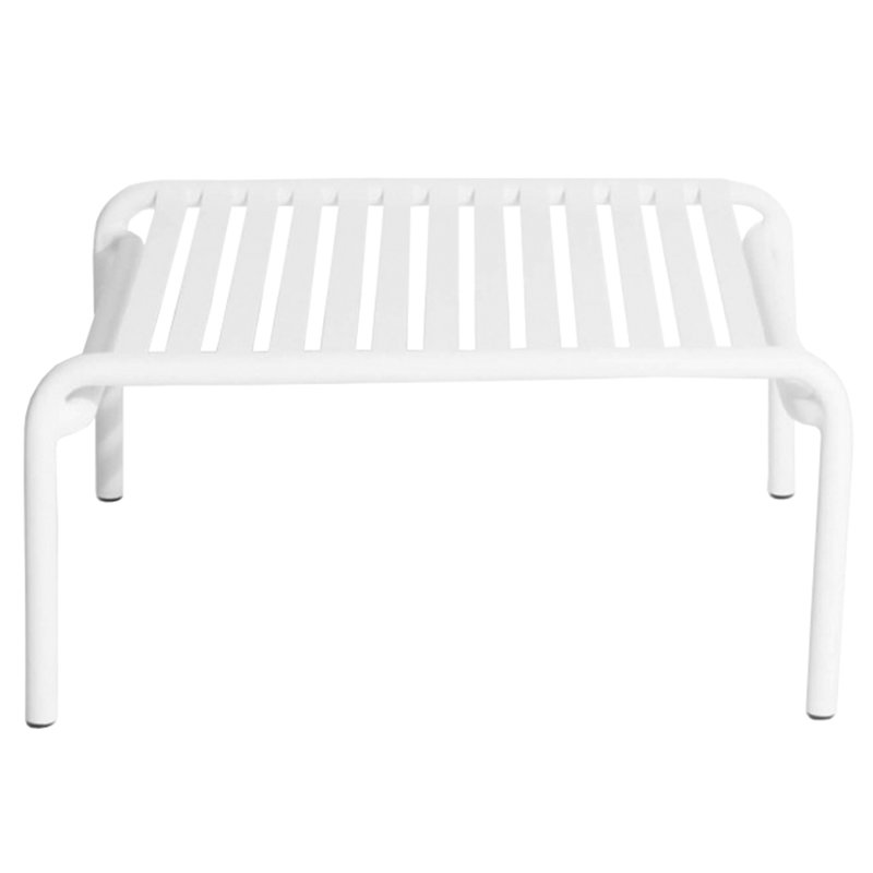 Petite Friture Week-end coffee table, white