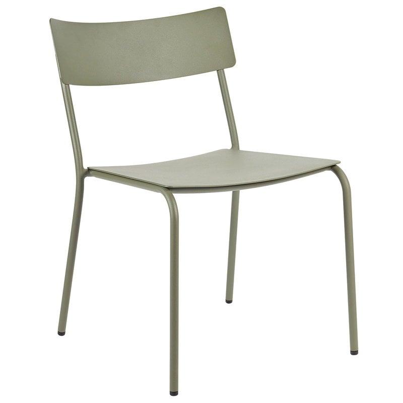 Serax August tuoli, vihreänharmaa