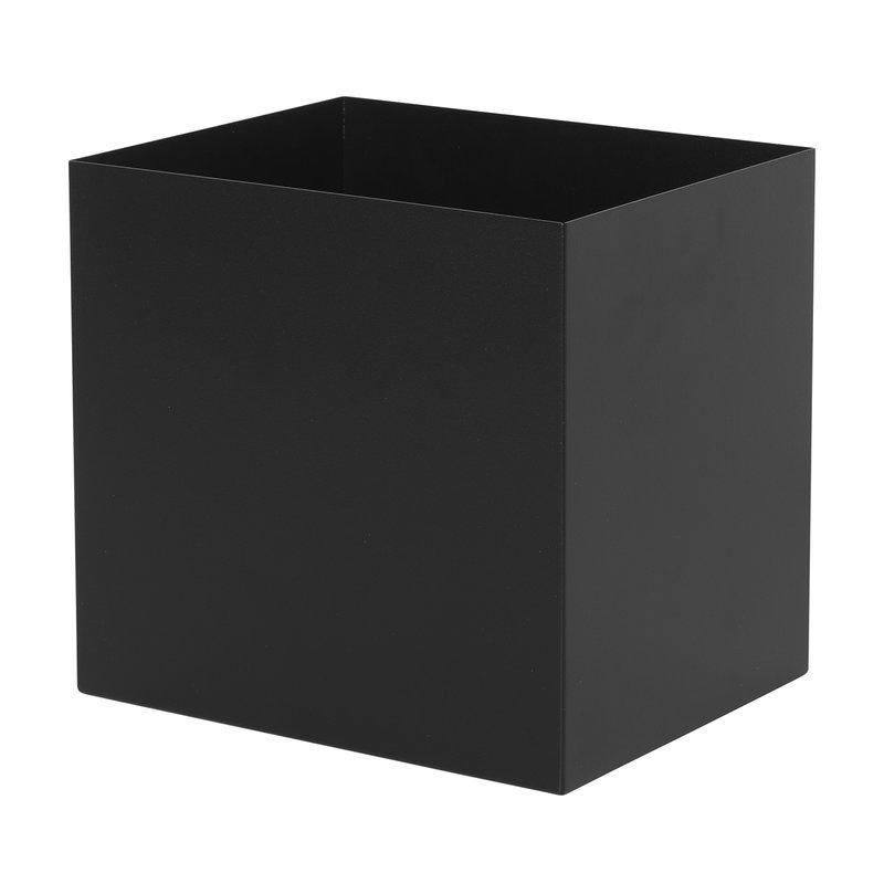 Ferm Living Plant Box ruukku, neliö, musta