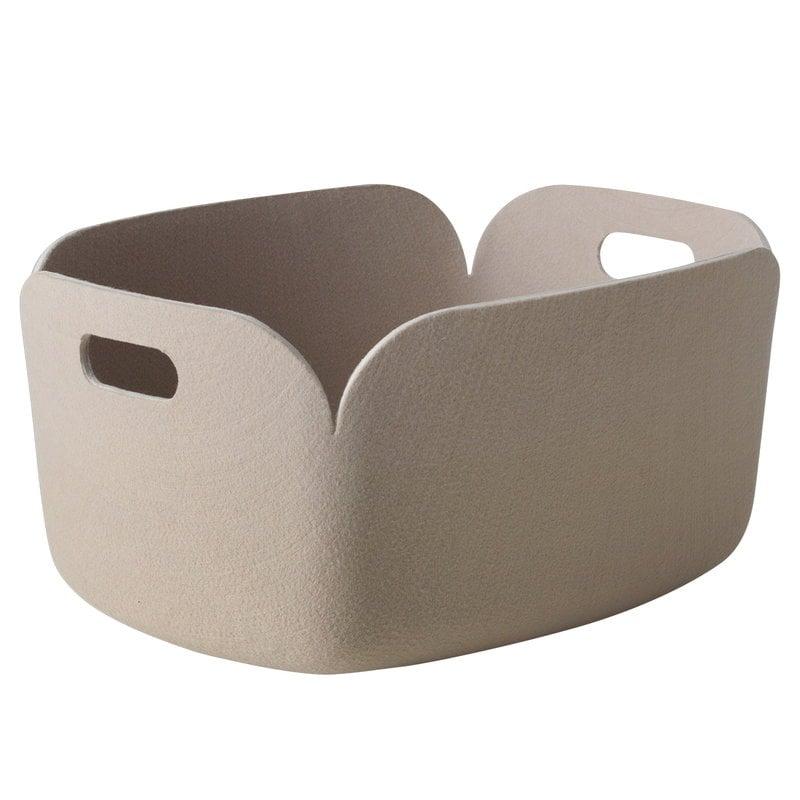 Muuto Restore storage basket, sand