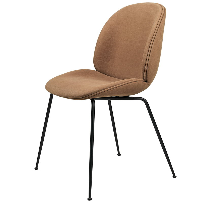 Gubi Beetle chair, black steel - Hot Madison Reloaded CH1249/495