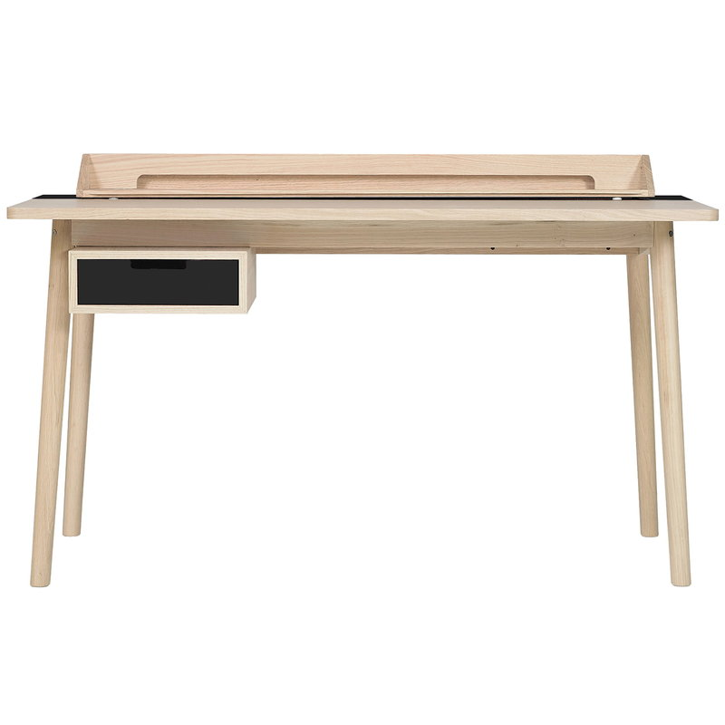 Harto Honore desk, oak - slate grey