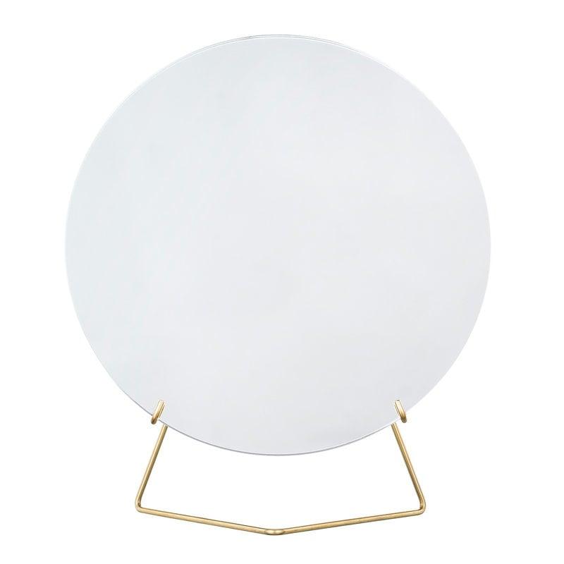 Moebe Standing mirror 20 cm, brass