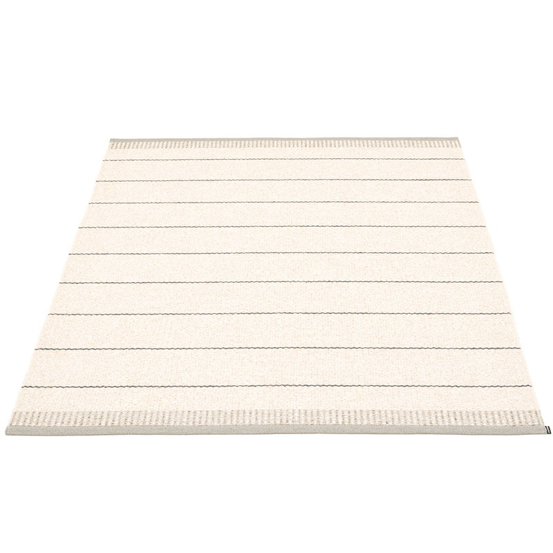 Pappelina Belle matto 140 x 200 cm, lämmin harmaa