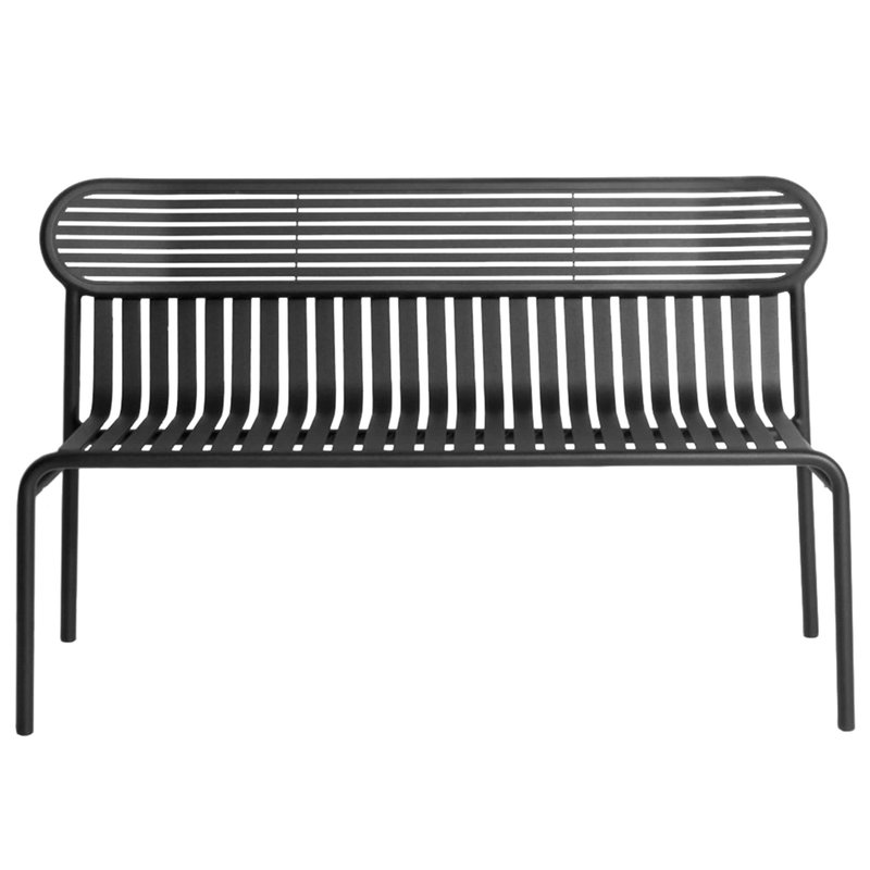 Terrific Week End Bench Black Gmtry Best Dining Table And Chair Ideas Images Gmtryco