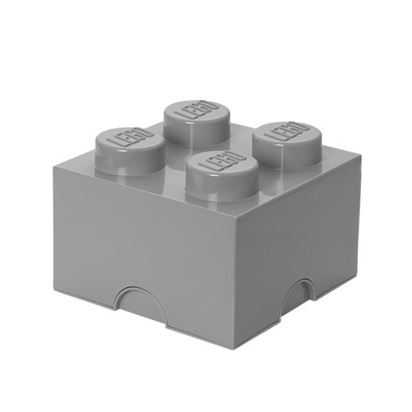 Room Copenhagen Lego säilytyslaatikko 4, harmaa