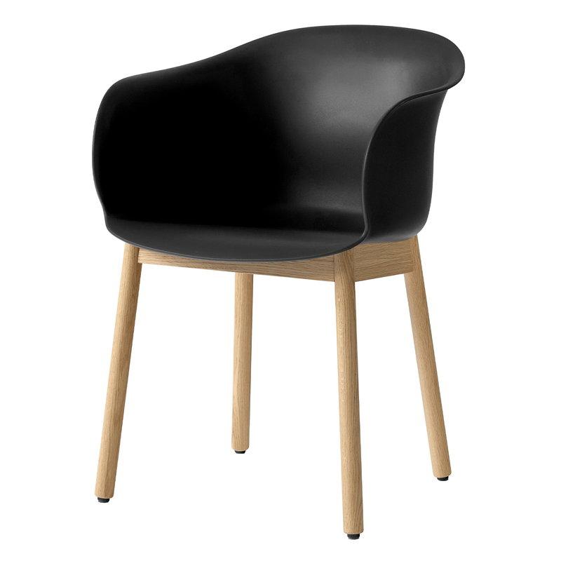 &Tradition Elefy JH30 chair, black - oak