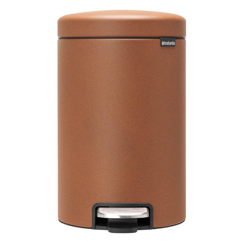 Brabantia newIcon pedal bin, mineral cinnamon