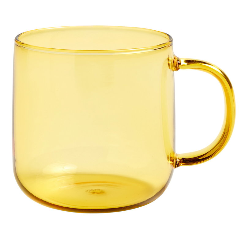 Hay Glass mug, yellow