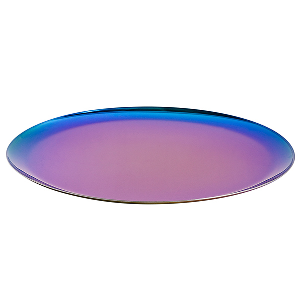 Hay Serving tray, round, rainbow