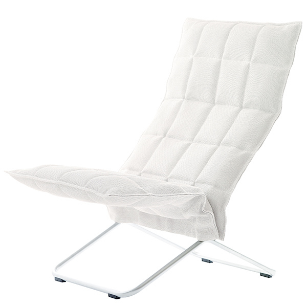 Woodnotes K chair, narrow, white