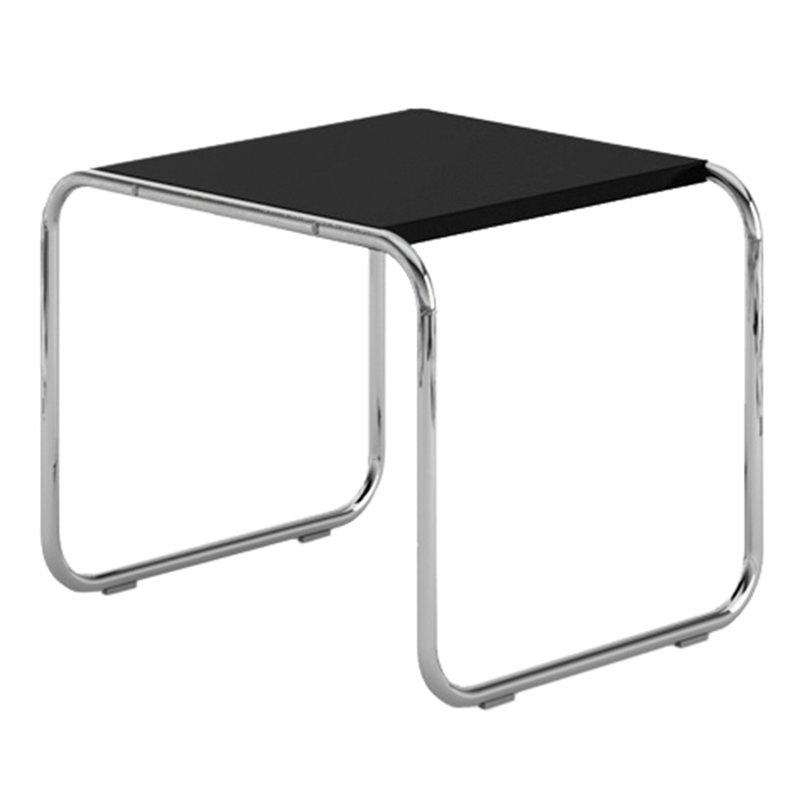 Knoll Laccio sivupöytä, musta - kromi