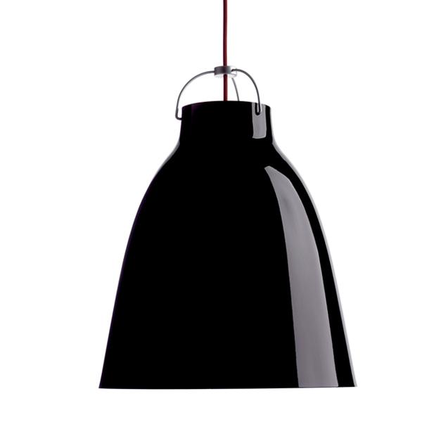 Fritz Hansen Lampada Caravaggio P3, nera