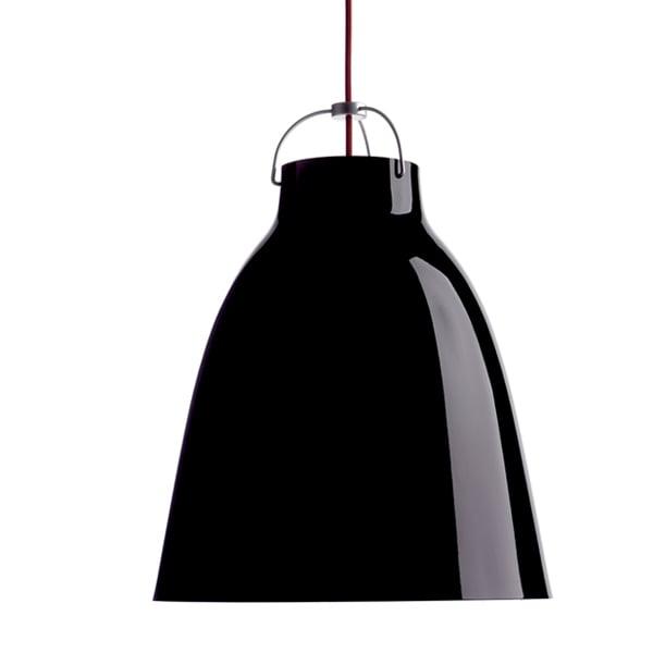 Fritz Hansen Caravaggio P3 valaisin, musta