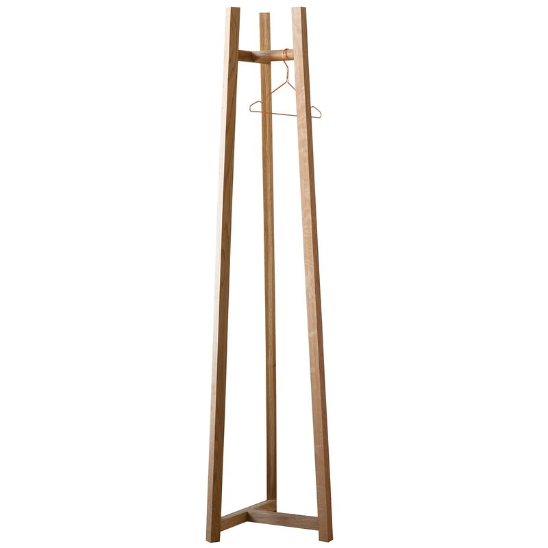 Made by Choice Lonna coat rack, small, oak