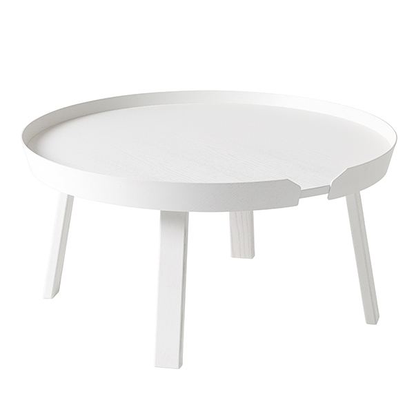 Muuto Around coffee table, large, white