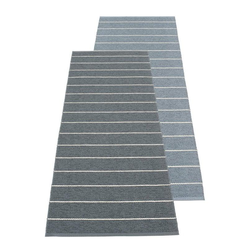 Pappelina Carl rug 70 x 180 cm, granit - storm
