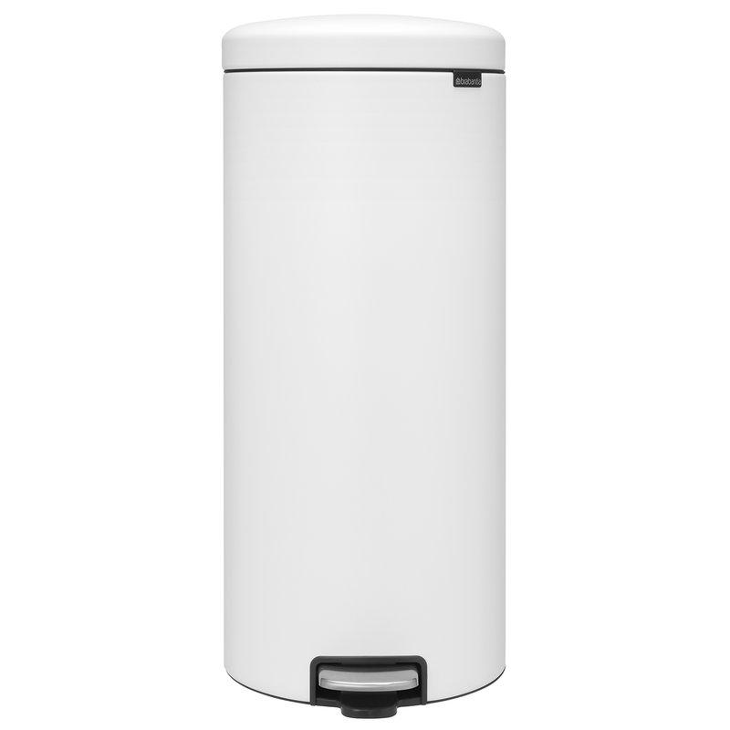Brabantia newIcon poljinroska-astia 30 L, Sense of Luxury, valkoinen
