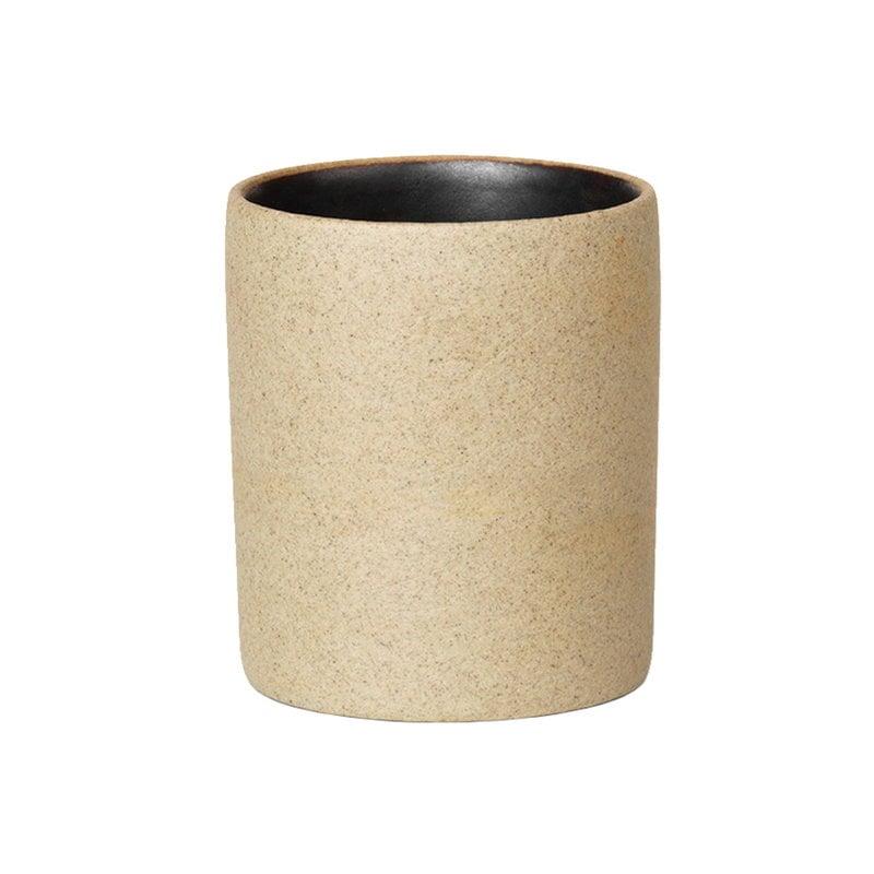 Ferm Living Bon Accessories petite cup, sand - black