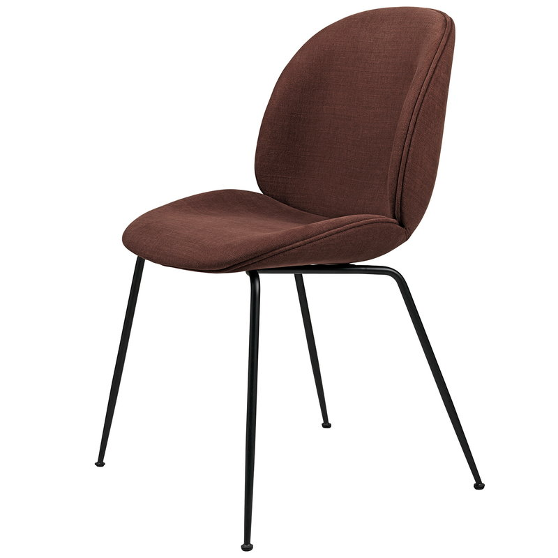 Gubi Beetle chair, black steel - Hot Madison Reloaded CH1249/715