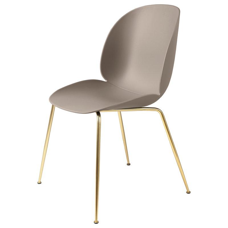Gubi Beetle tuoli, messinki - new beige