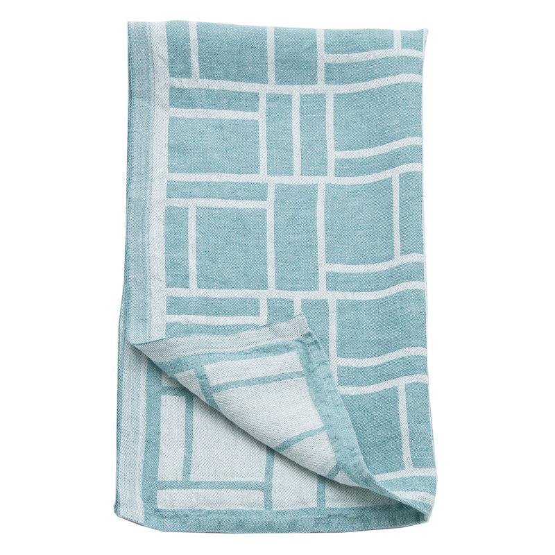 Johanna Gullichsen Pure hand towel 45 x 95 cm, aqua